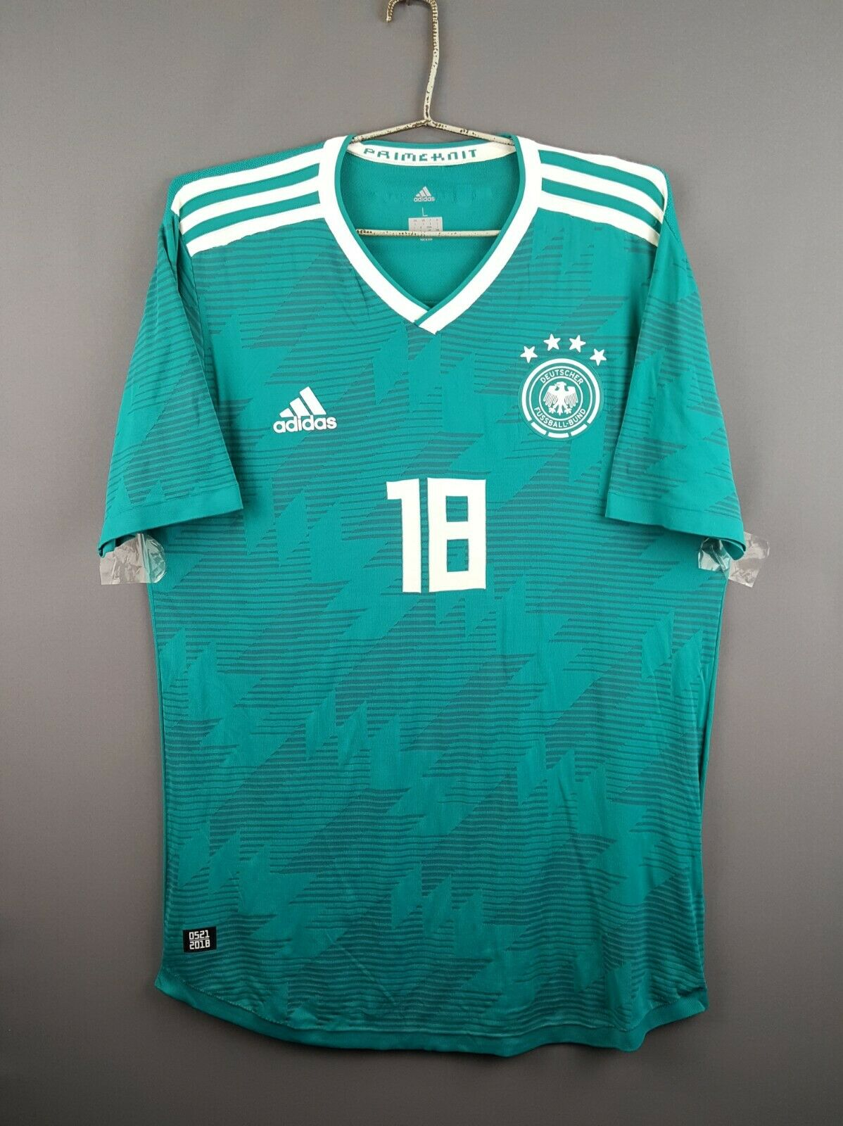 5 5 Adidas Duitsland voetbalshirt grote 2019 away shirt CE8440 football ig93