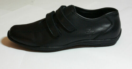 Strap 108 Flats Euro Leather Casual 39 Black Size Shoes Bnib Detail Comfort AwX1Paq