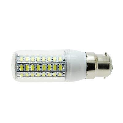 B22 Bayonet 15W LED Corn Bulb 220V Warm/Cool White 72 LEDs 5730 SMD Lamp Light