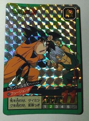 BIG SALE DRAGON BALL Z CARDDASS PART 11 FULL SET 6 PRISMS CARDS SET