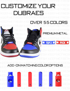 Details zu Personalize Your Dubraes Lace Locks Metal Customize Dubrae Tag Lock Nike Adidas