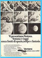 OGGI977-PUBBLICITA'/ADVERTISING-1977- VENTANA VIAGGI TURISMO