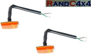 PRC7044-x2-Land-Rover-Defender-Wing-Side-Repeater-Indicator-Lamp-Early-Type