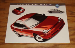 95 CATALOG 1995 DODGE and PLYMOUTH NEON COUPE /& SEDAN BROCHURE 2 Different