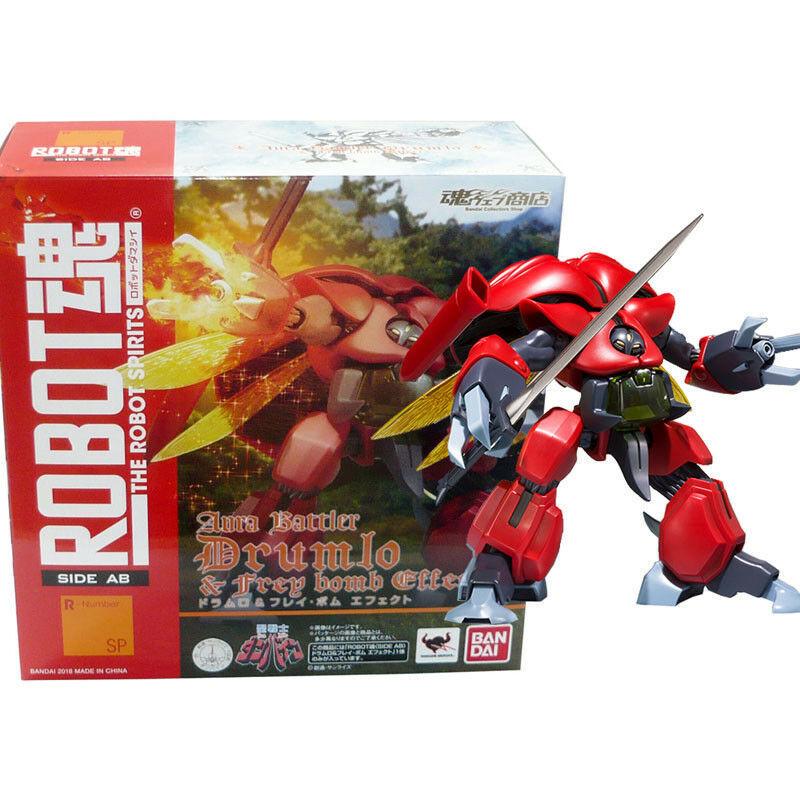 Bandai limitada Robot Spirits Soul Aura Battler Dunbine dru o & Frey bomba efecto
