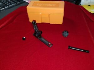 Details about Lyman #2 Rear Tang Peep Sight New with Discs Case Hardware  Winchester 94 92
