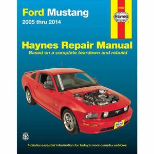 Ford Mustang V6 & V8 2005-2014 Haynes Manual 36052 NEW