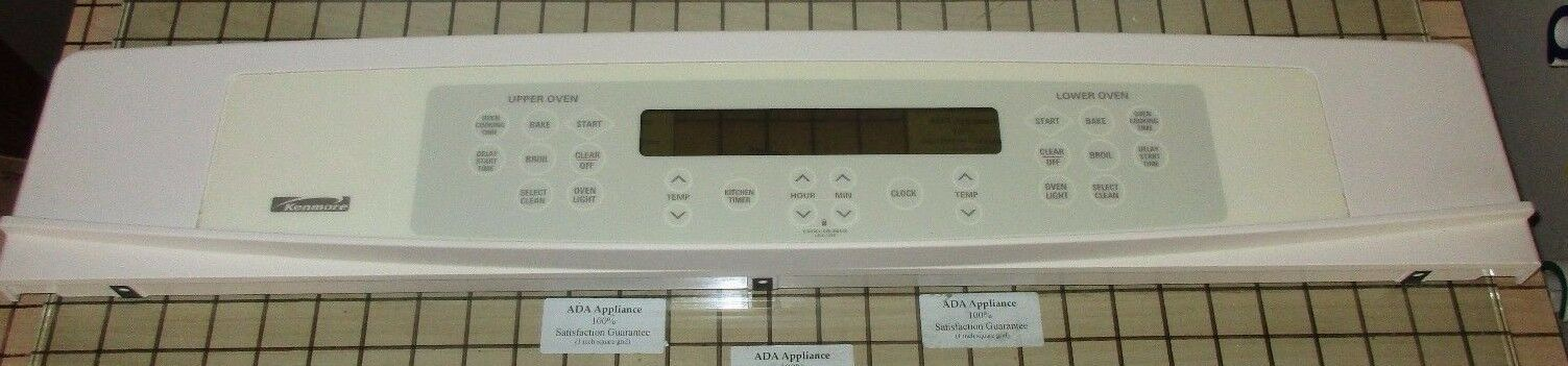KM Oven Control Panel Bsq WB36T10590, 1087163 SATISF GUAR & FREE EXPD SHIPPING