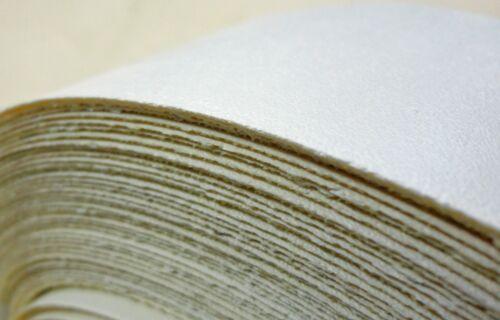 "White melamine edgebanding in 1.25/"" x 120/'/' with hot melt preglued adhesive"