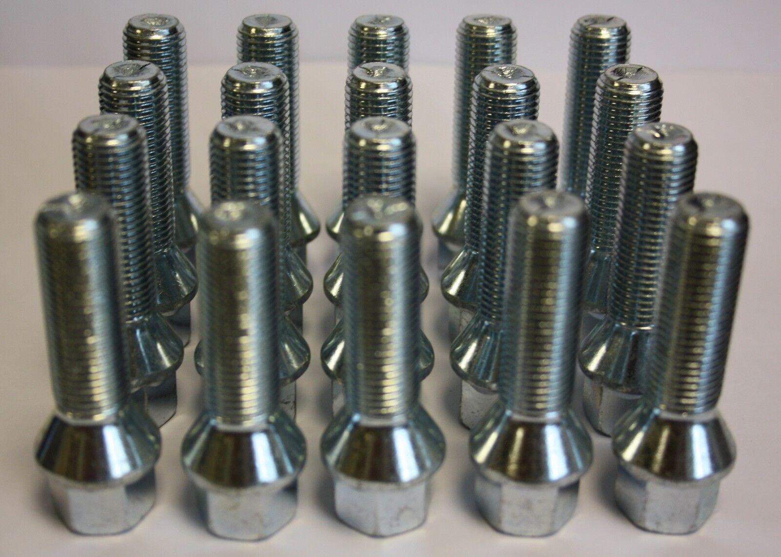 20 X M 14 X X X 1 5 40mm Lang Verlängerte Aluradschrauben für VW Passat Cc 95c023