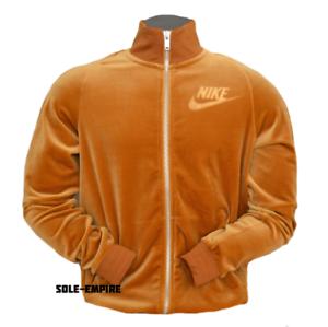 Nike-Sportswear-Velour-Track-Jacket-Zip-Elemental-Gold-AH3386-722-New-SALE