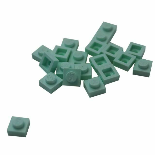 Pack of 20 3024 New. Various Colours LEGO: 1 X 1 Plate
