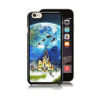 Disney Mickey Mouse Peter Pan Castle Case Cover Fits for iPhone Phone Models