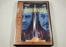 Highlander DVD 10th Anniversary Director's Cut Christopher Lambert, Sean Connery