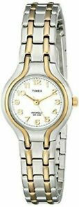 NEW-Timex-Womens-T27191-Linwood-Street-Two-Tone-Stainless-Steel-Bracelet-Watch