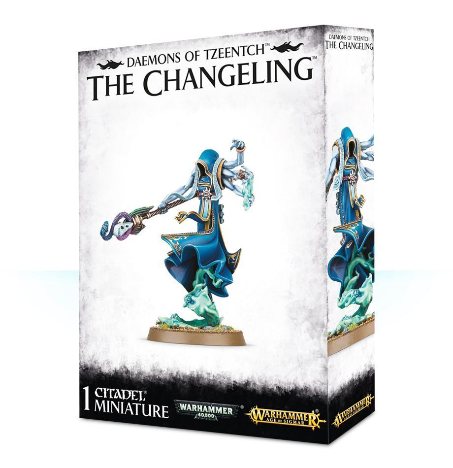 The Changeling Games Workshop GW Warhammer Age of Sigmar Chaos Daemons Daemons