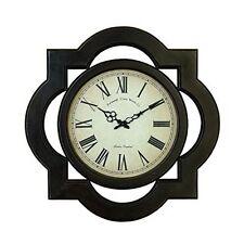 Benzara 81667 Wood Wall Clock Uniquely Scalloped New