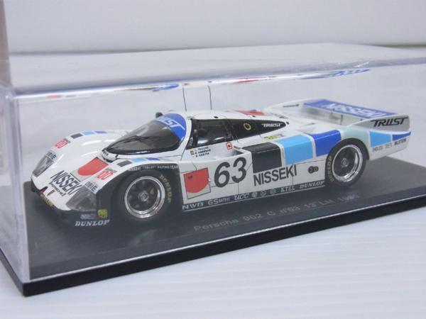 Spark-KB 1 43 Porsche 962 C  13 Le Mans 1990 KBS009