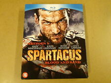 4-DISC BLU-RAY / SPARTACUS - BLOOD AND SAND - SEASON 1 ( ANDY WHITFIELD... )
