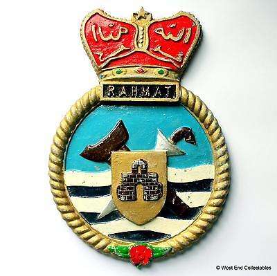 Kenya Navy Old Kenyan Navy Maritime Ship Metal Tampion Plaque Badge Crest