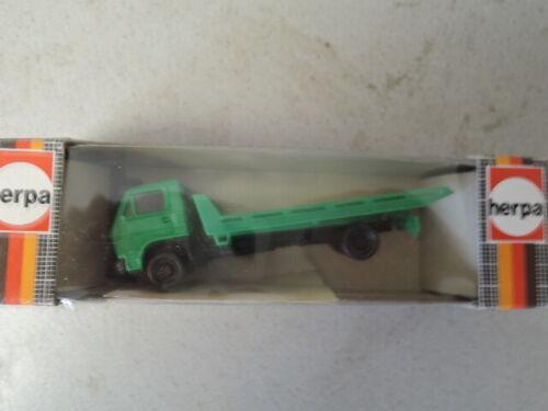 Herpa 817500 MAN Autotransporter grün  aus Sammlung in OVP 300