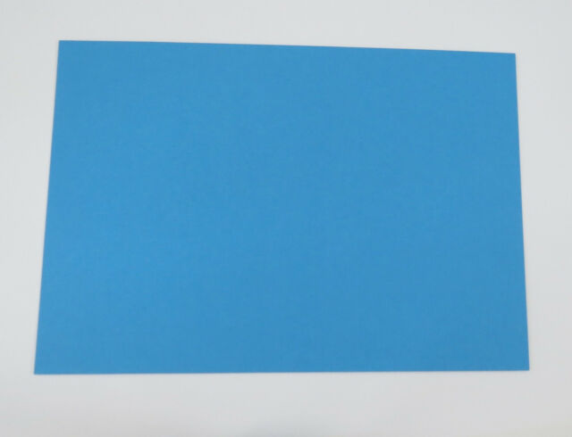 Blue Card 20 x A4 100% Recycled 275gsm weight Matt Finish Cardstock