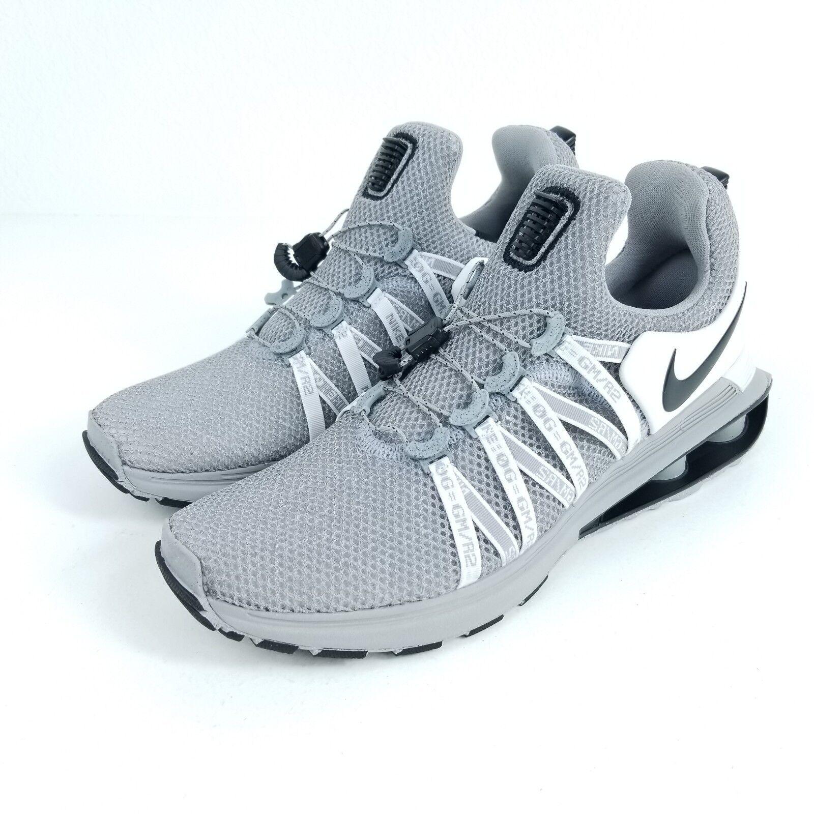 NIKE Shox Gravity Mens Sz Multiple Shoes OG Wolf Grey Black AR1999 010
