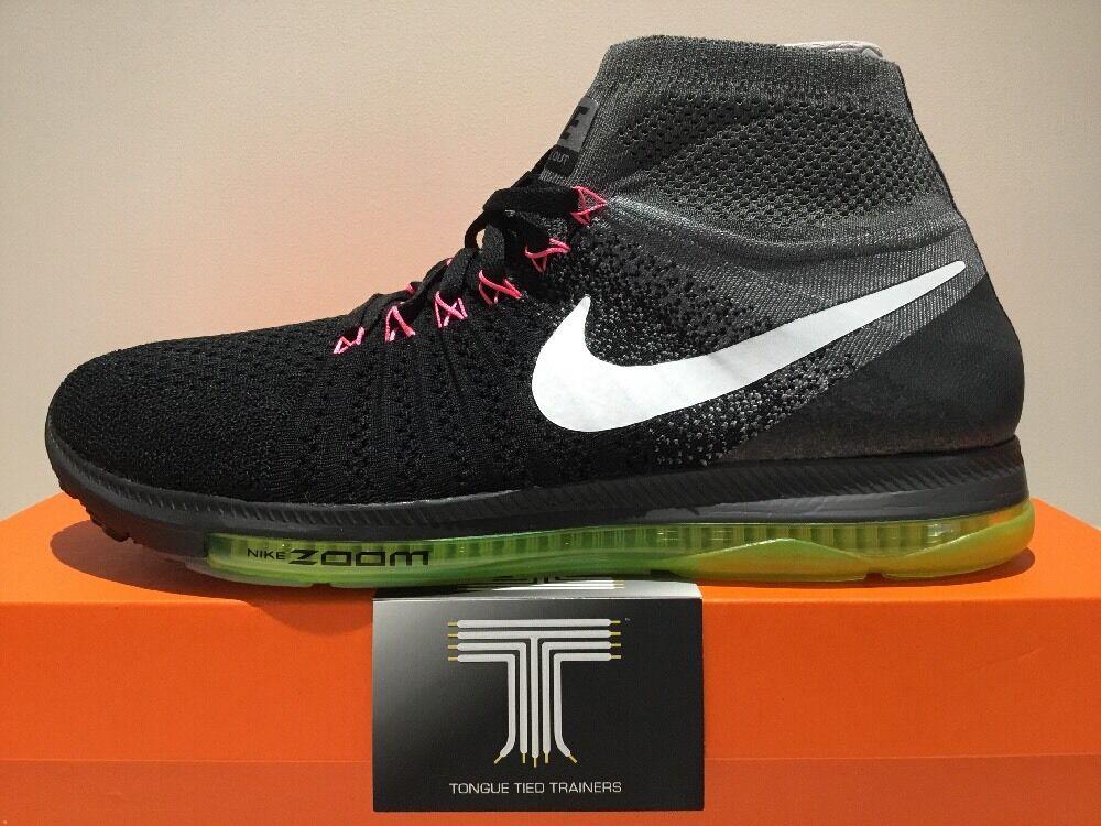 Nike Zoom All Out Flyknit  844134 002  U.K. Größe 9
