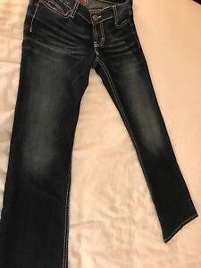street price comfortable feel exquisite style Details about Womens Jrs BKE Buckle Stella Low Flare Jeans 27 Regular  Inseam 31. 27x31 Dark