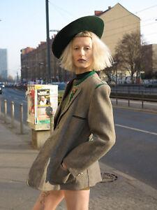 Tiroler Hut traditionell 50s Trachten TRUE VINTAGE  traditional hat Tirol selten