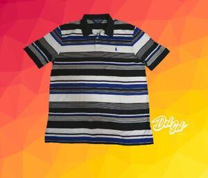 Vintage-Polo-Golf-Ralph-Lauren-Polo-Shirt-Striped-Large