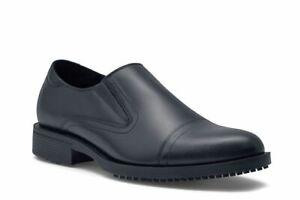 Shoes-for-Crews-Men-039-s-Statesman-Slip-Resistant-Slip-On-Cap-Toe-Dress-Work-Shoes
