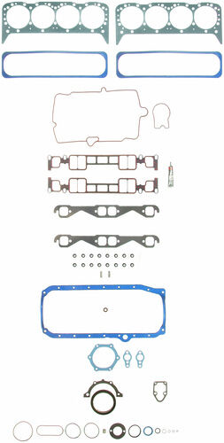 Chevy//GMC 350//5.7 VORTEC Engine Kit Rings+Oil Pump+Timing+Bearings+Gaskets