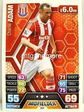 Match Attax 2013/14 Premier League - #265 Charlie Adam - Stoke City