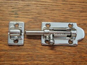 Gentil Image Is Loading BARREL BOLT SEACHOICE 35691 CHROME BRASS MARINE BOAT