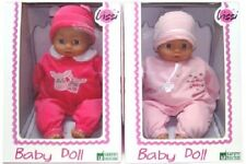 Lissi Puppe ca. 43cm Overall rosa oder pink Lissi Dolls NEU & OVP