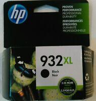 New in box  HP OFFICEJET 932XL BLACK INK CARTRIDGE  932 XL OEM Authentic Genuine