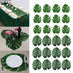 Paume-artificielle-hawaienne-tropicale-feuilles-feuillage-de-la-jungle-decoratio