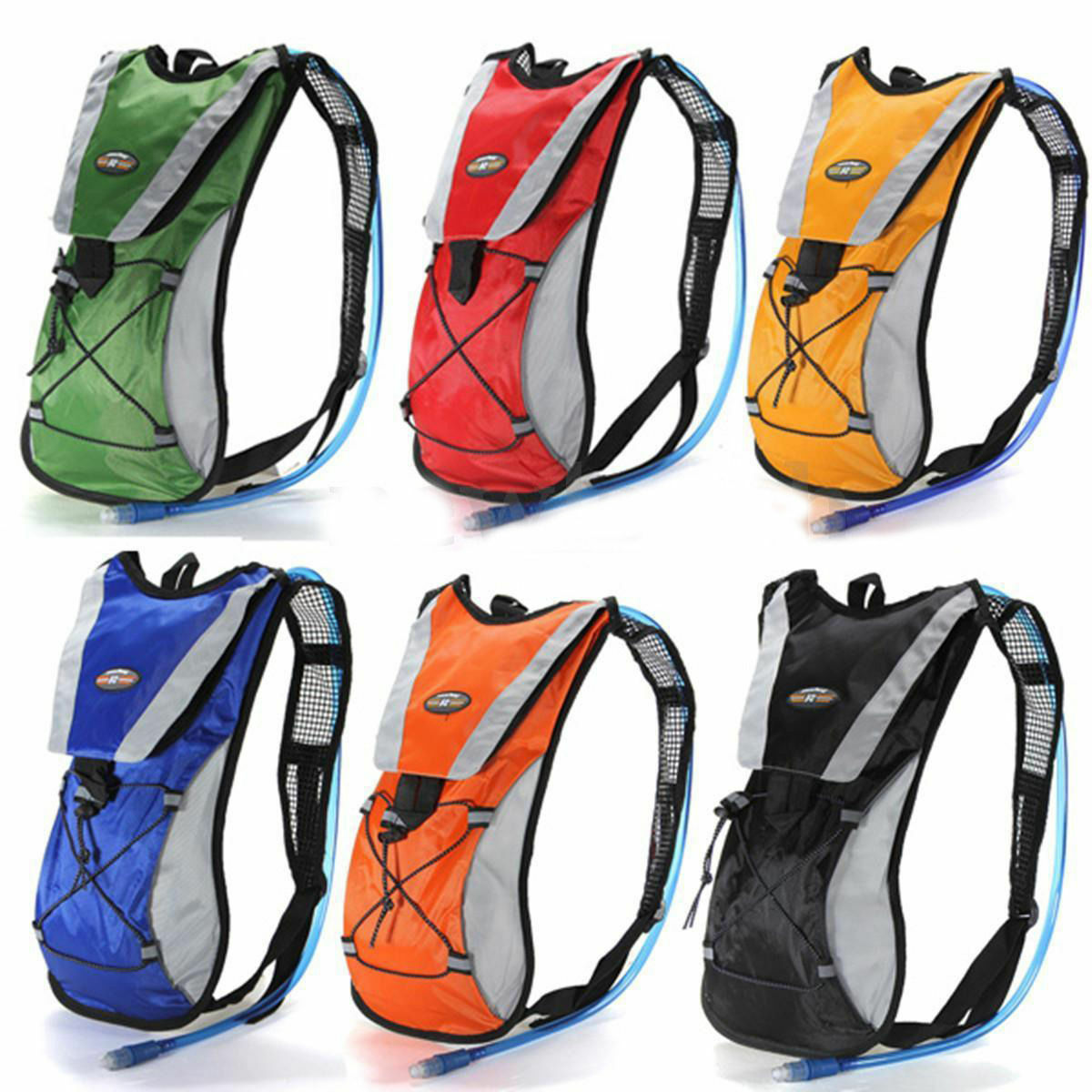 Sporting Backpack 2L Water Bladder Bag Hydration Packs Camelbak Hiking... - s l1600