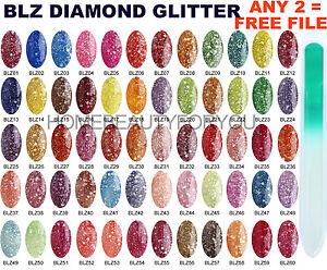 BLUESKY-BLZ-DIAMOND-GLITTER-SPARKLE-SHINE-NAIL-GEL-POLISH-UV-LED-SOAK-OFF-WIPES