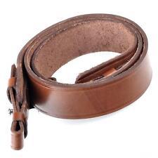 Rifle Shotgun Strap Gun Sling Genuine Leather Hunting Brown Hunting Shoulder New