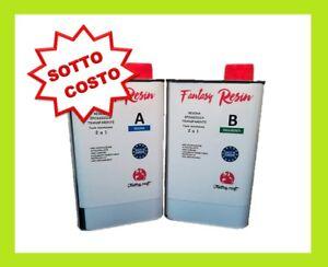 RESINA EPOSSIDICA Transparente 2.25 Kg. Arte & Best price