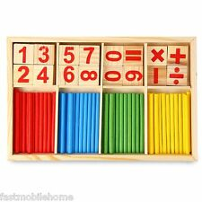 Neuf Stick Éducatif Enfants Jouets Montessori Mathématique Intelligence