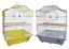 HERITAGE-CAGES-CORFE-BUDGIE-FINCH-BIRD-CAGE-30x23x39CM-BUDGIES-CANARY-HOME-PET thumbnail 1
