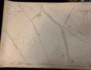 1909-Ordnance-Survey-Map-Paull-Hull-Yorkshire-Vintage-Salthaugh-Grange
