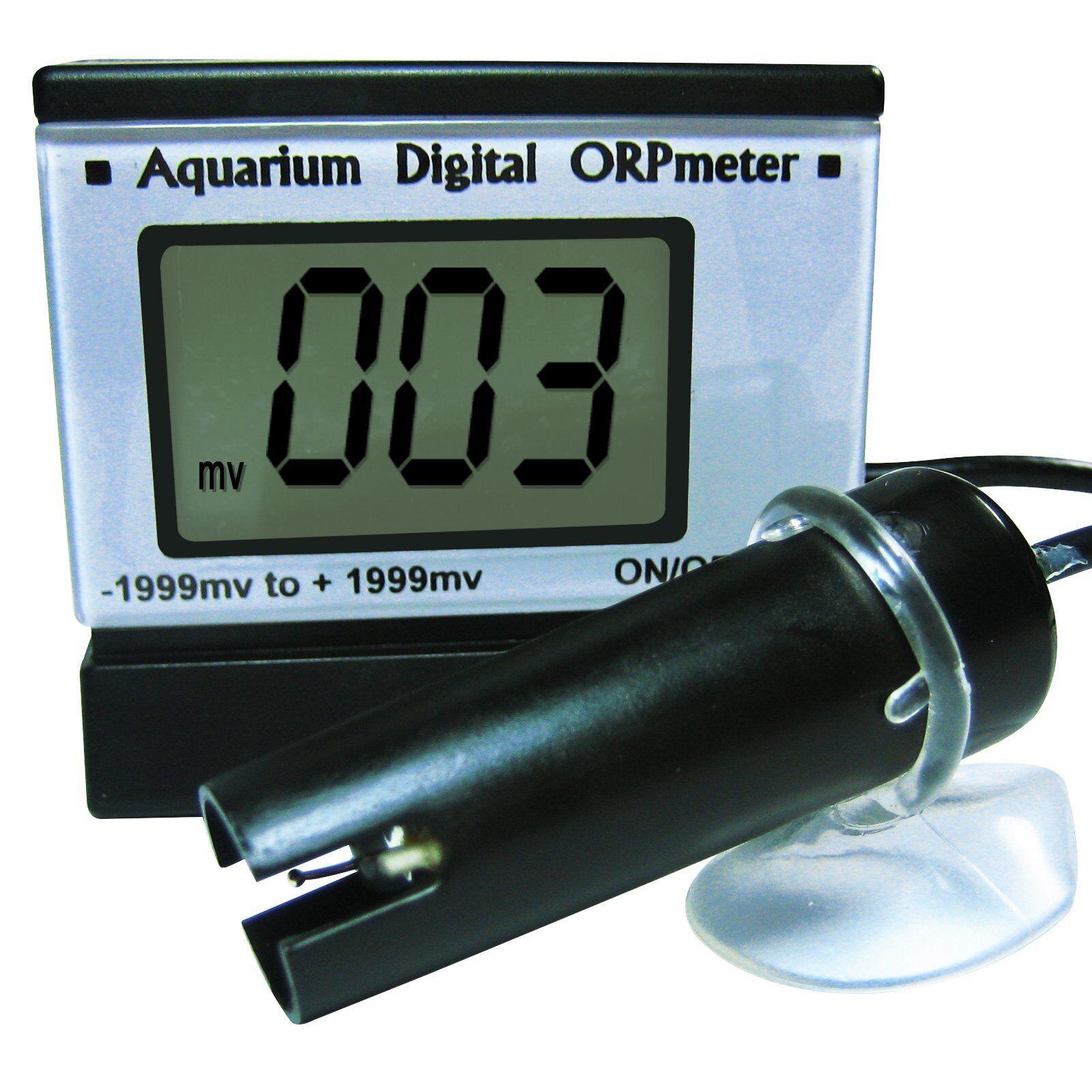 ORP Metro rojoox Probador de Calidad del Agua para Acuario Laboratorio Pantalla LCD Digital