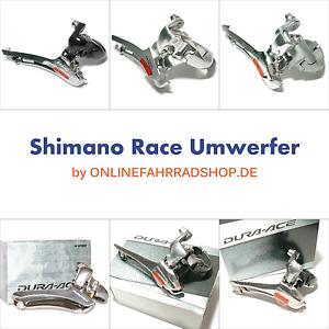 Shimano 2x10 Umwerfer FD-7900 FD-7800 FD-6700 FD-6600 FD-5600 Ultegra Dura Ace