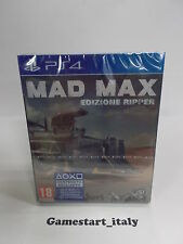 MAD MAX RIPPER STEELBOOK SPECIAL EDITION - SONY PS4 - NUOVO NEW