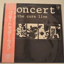 THE CURE - CONCERT/THE CURE LIVE - 1984 JAPAN ORIGINAL LP