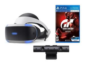 NEW-Playstation-4-VR-Headset-Gran-Turismo-Sport-and-Camera-PSVR-Bundle